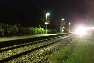 Night Train Arriving