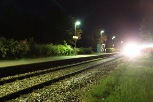 Night Train Arriving