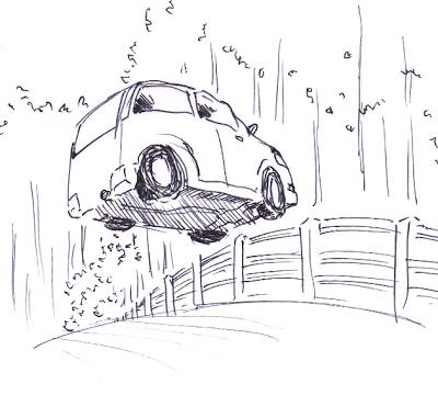 Mobil terbang.